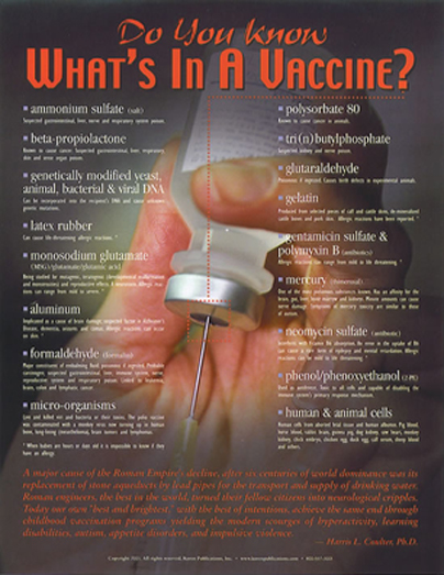 Whats In A Vaccine
