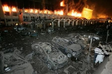 APTOPIX Pakistan Explosion