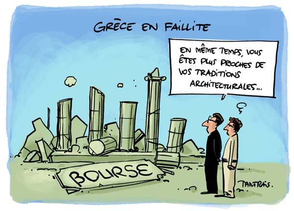faillite grecque   SHOAH PLANETAIRE